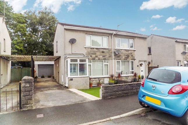 Thumbnail Semi-detached house for sale in Redlands Close, Pencoed, Bridgend.