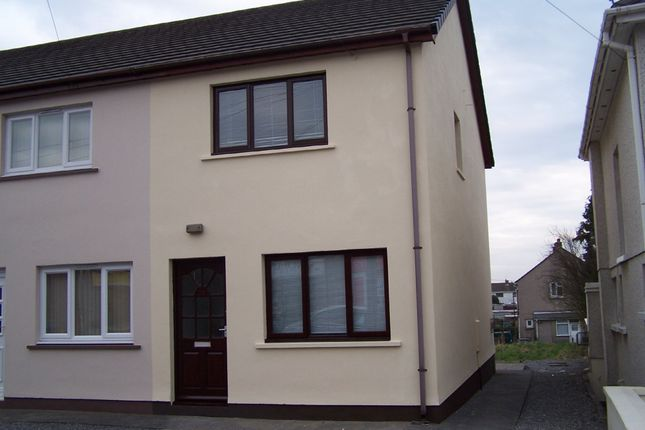 Thumbnail End terrace house to rent in Llandeilo Road, Cross Hands, Llanelli