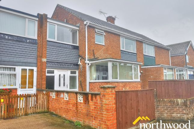 Thumbnail Terraced house to rent in Angram Walk, Newcastle Upon Tyne