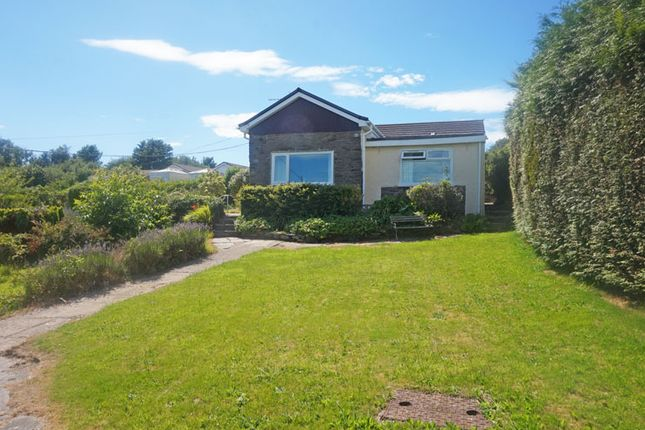 Thumbnail Detached bungalow for sale in Old Parish Road, Hengoed