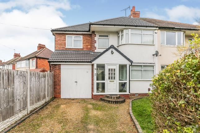 Thumbnail Semi-detached house for sale in Summerfield Road, Olton, Solihull, West Midlands