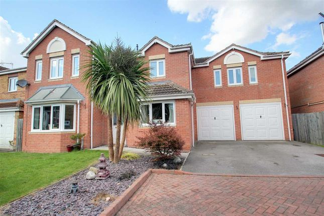 Thumbnail Detached house for sale in Richmond Drive, North Hykeham, North Hykeham, Lincoln