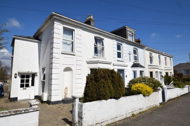 Thumbnail End terrace house for sale in Marlborough Road, Falmouth