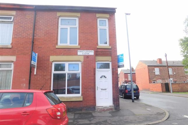 Thumbnail End terrace house for sale in Hartlepool Close, Rusholme, Manchester
