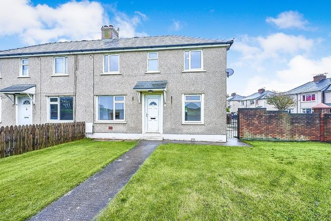Thumbnail Semi-detached house to rent in Moss Bay Road, Workington