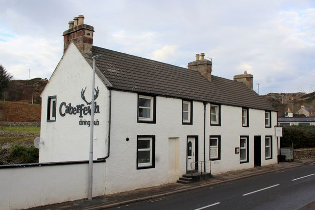 Thumbnail Restaurant/cafe for sale in The Caberfeidh, Main Street, Lochinver, Sutherland