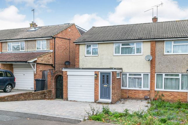 Thumbnail Semi-detached house for sale in Petworth Drive, Burgess Hill