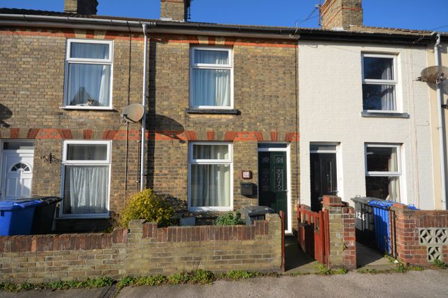 Thumbnail Terraced house to rent in Morton Road, Pakefield, Lowestoft, Suffolk