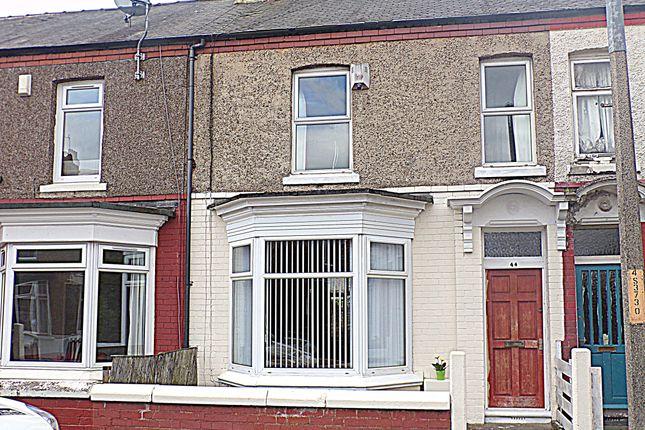 Thumbnail Terraced house for sale in Sydenham Road, Stockton-On-Tees