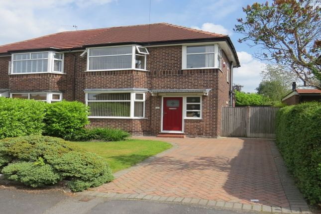Thumbnail Semi-detached house for sale in Lacey Avenue, Wilmslow