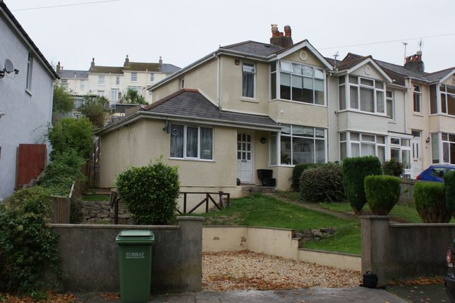 Thumbnail End terrace house to rent in Egerton Road, Torquay