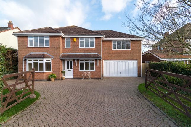 Thumbnail Detached house for sale in Hinckley Road, Dadlington, Nuneaton