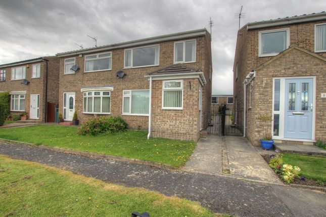 Thumbnail Semi-detached house to rent in Roman Road, Brandon, Durham