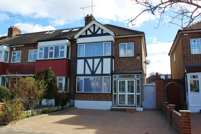 Thumbnail End terrace house for sale in Brackley Square, Woodford Green