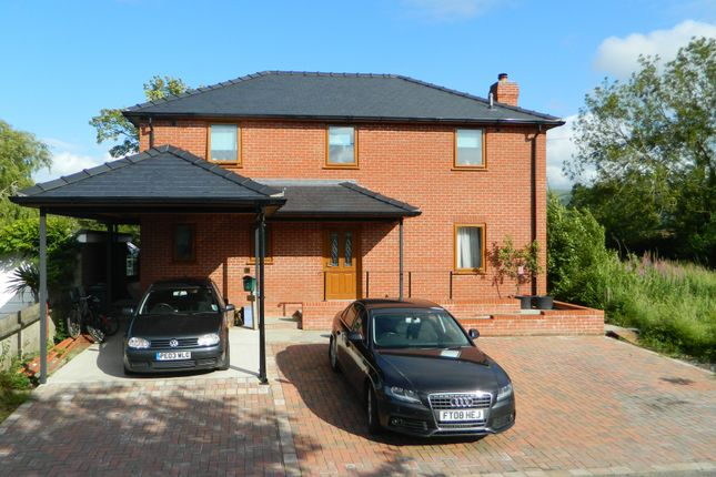 Thumbnail Detached house for sale in Caersws, Powys