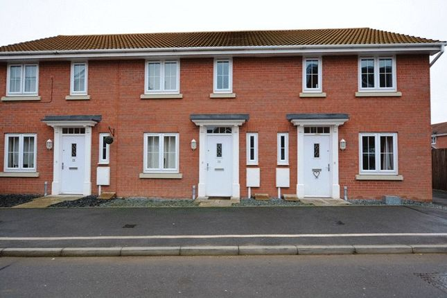 Thumbnail Terraced house to rent in Taurus Avenue, North Hykeham