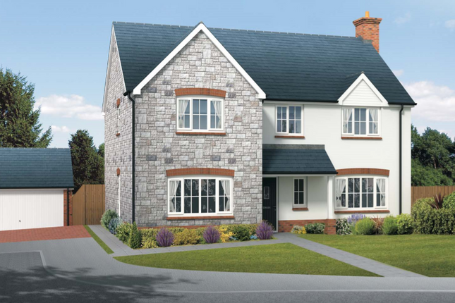 Thumbnail Detached house for sale in The Ampthill, Squires Meadow, Lea, Ross-On-Wye, Herefordshire