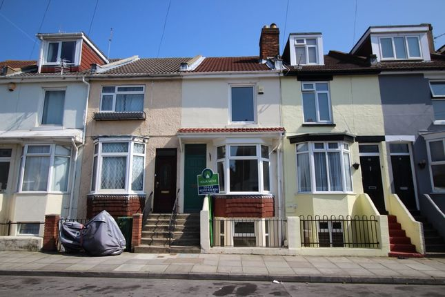 Thumbnail Terraced house to rent in Hester Road, Southsea
