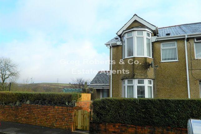 Thumbnail End terrace house for sale in Ashvale, Tredegar, Blaenau Gwent