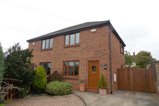 Thumbnail Semi-detached house for sale in Highfield Road, North Thoresby, Grimsby