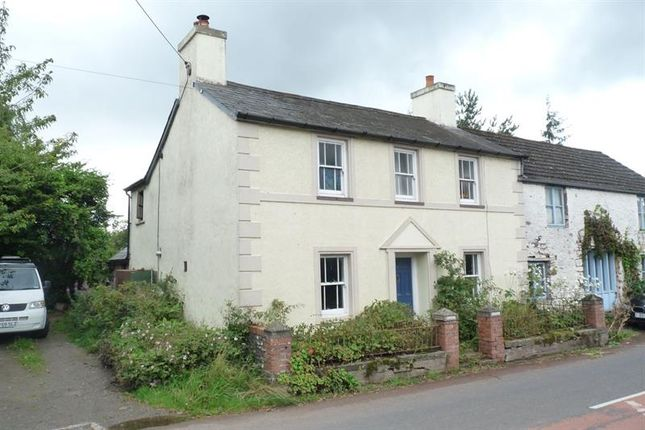 Thumbnail Semi-detached house for sale in Llangorse, Brecon