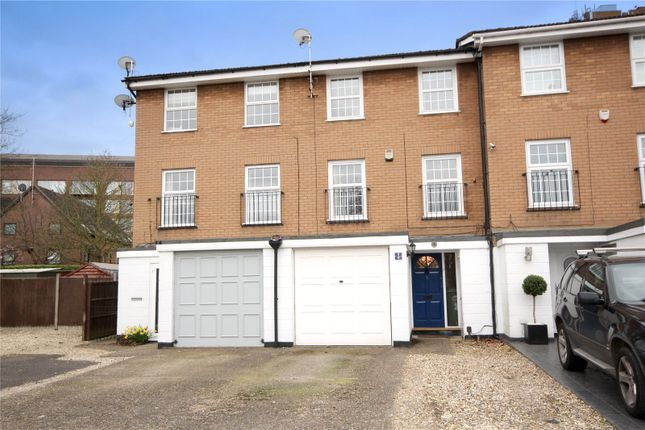 Thumbnail Terraced house to rent in Waters Drive, Staines-Upon-Thames, Surrey
