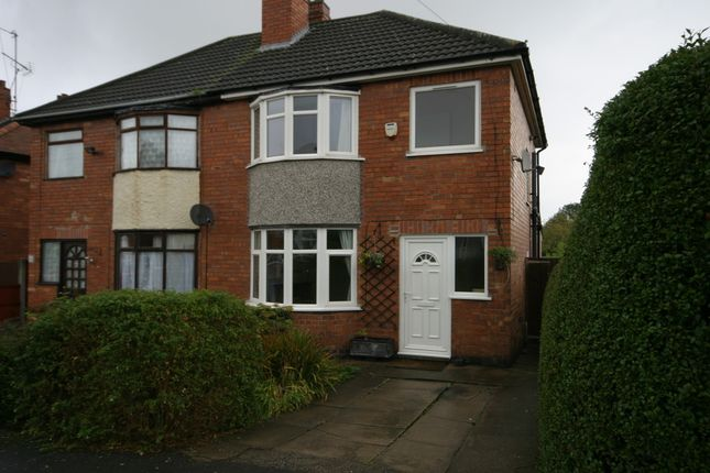 Thumbnail Semi-detached house to rent in Manor Avenue, Derby