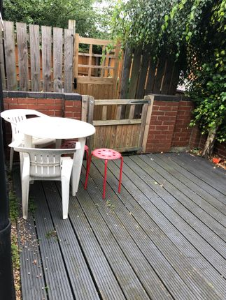 Decking Area of Birrell Road, Nottingham NG7