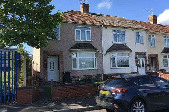 Thumbnail End terrace house to rent in Duncombe Lane, Fishponds, Bristol