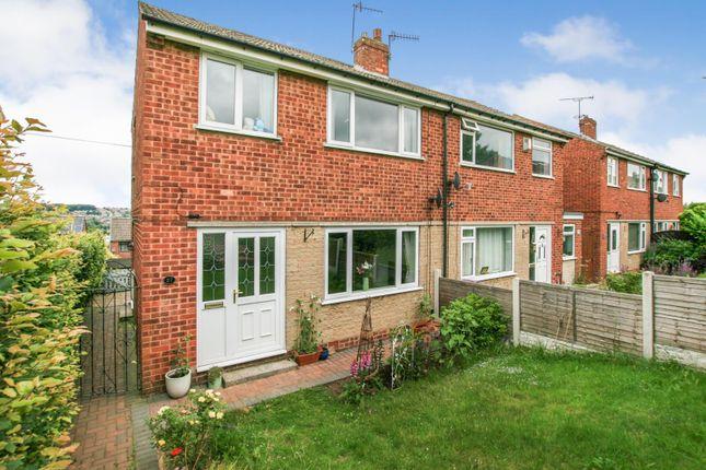 Thumbnail Semi-detached house for sale in Hallowes Drive, Dronfield, Derbyshire