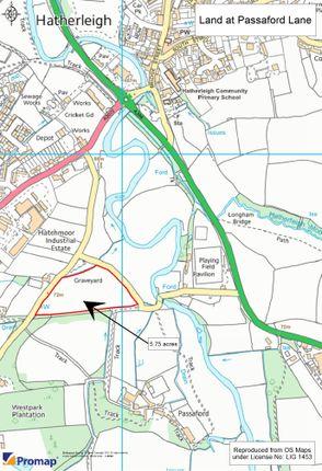 Field Plan of Passaford Lane, Hatherleigh EX20