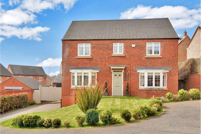 Thumbnail Detached house for sale in Sharter Drive, Loughborough