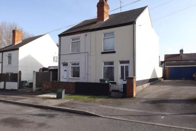 Thumbnail Semi-detached house to rent in Redgate Street, Mansfield