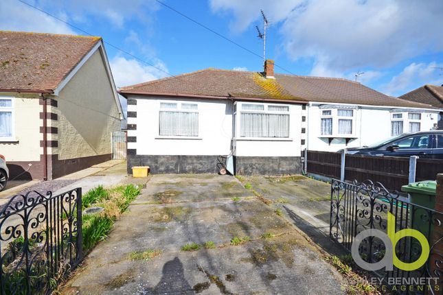 Thumbnail Semi-detached bungalow for sale in The Meads, Vange, Basildon