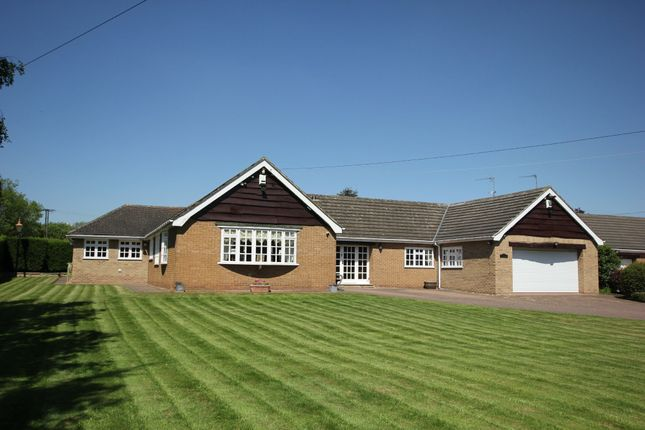 Thumbnail Detached bungalow for sale in Newstead Lane, Fitzwilliam, Pontefract