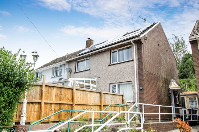 Thumbnail Semi-detached house for sale in Baillie Smith Avenue, Crumlin, Newport