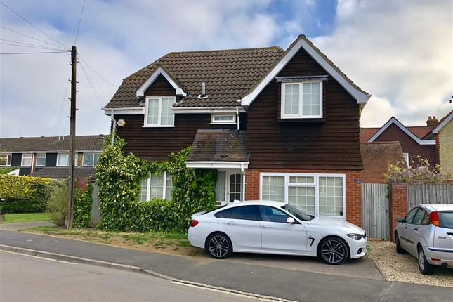 Thumbnail Detached house for sale in Common Road, Stotfold, Hitchin