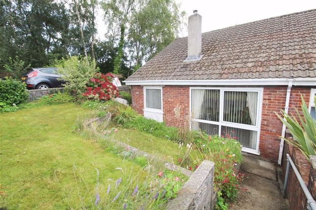 Thumbnail Semi-detached bungalow for sale in Silverhill Close, Cilfynydd, Pontypridd