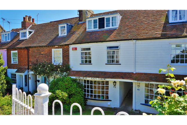 2 bed terraced house for sale in Island Wall, Whitstable