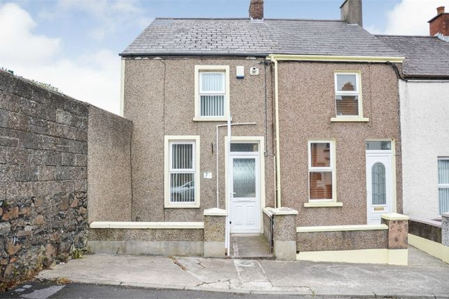 Thumbnail End terrace house for sale in Carson Street, Larne, County Antrim