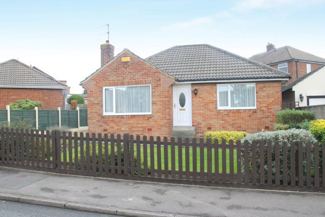 Thumbnail Detached bungalow for sale in Knox Avenue, Harrogate