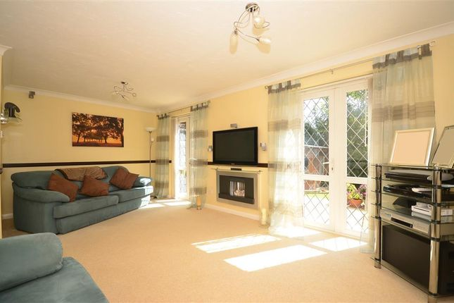 Thumbnail Detached house for sale in Hart Close, West Park, Uckfield, East Sussex