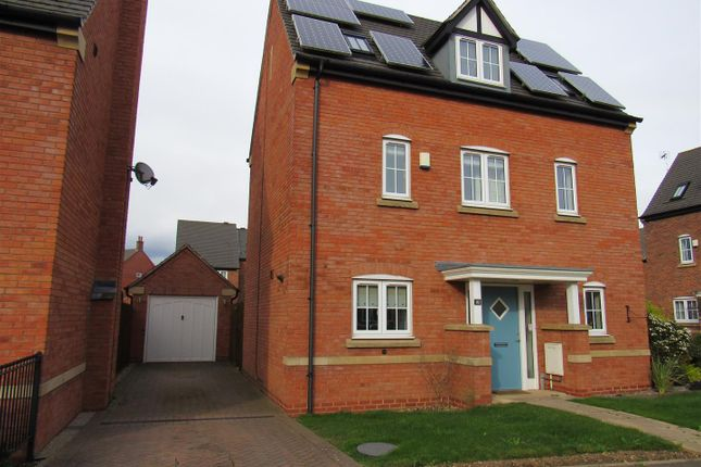Thumbnail Detached house for sale in Saxby Drive, Syston, Leicester