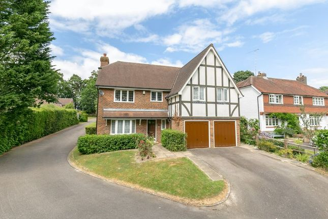 Thumbnail Detached house for sale in Maynard Close, Copthorne, West Sussex