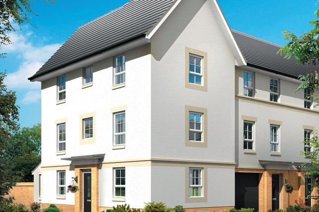 "Thumbnail Semi-detached house for sale in ""Craignure"" at Merchiston Oval, Brookfield, Johnstone"