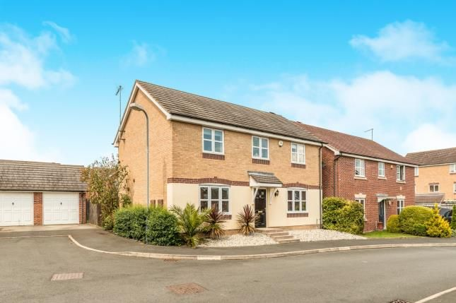 Thumbnail Detached house for sale in Jacombe Close, Chase Meadow, Warwick, .