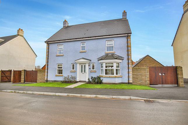 Thumbnail Detached house for sale in Lon Afon Llwyd, Pontrhydyrun, Cwmbran