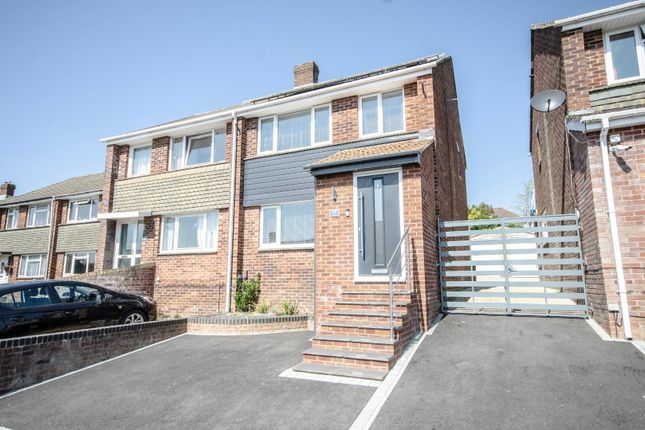 Thumbnail Semi-detached house for sale in Effingham Gardens, Sholing, Southampton