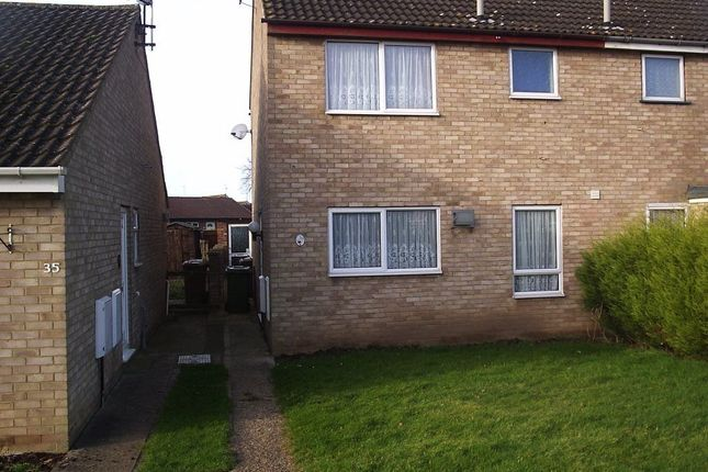 Thumbnail Semi-detached house to rent in Prince Of Wales Close, Wisbech