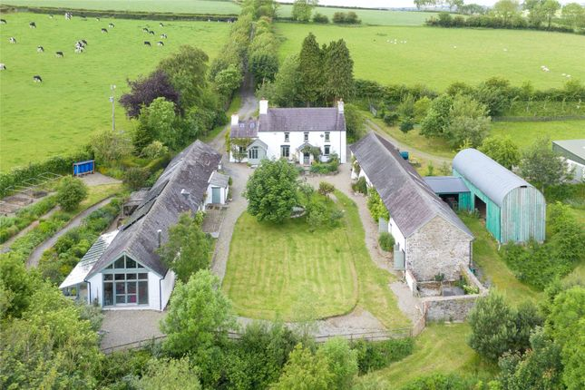 Thumbnail Detached house for sale in Pantyporthman, Bancyffordd, Llandysul, Carmarthenshire